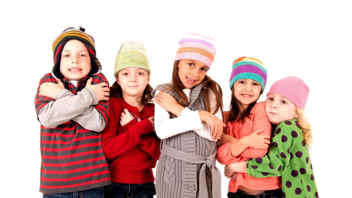 Consejos para el frio niños