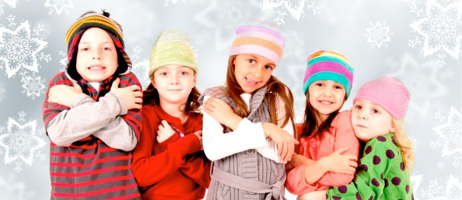 Como cuidar a los niños, cuando llega el frío.