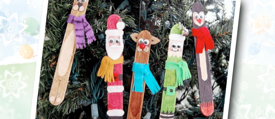 Adornos navideños hechos por tu peque